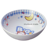 100% Melamine Dinnerware- Kid′s Series Children Salad Bowl (BG776)