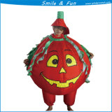 Inflatable Halloween Pumpkin Suit Costume for Party