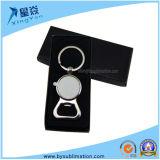 Gifts Logo Custom Key Chain Sublimation Metal Key Ring