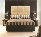 King Size Bed & Headboard and 2 Side Table (B-01)