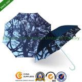 Automatic Promotional Aluminium Stick Umbrella with Customized Digital Printing (SU-0023FBD)