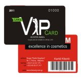 Classic Selection PVC VIP Card with Barcode