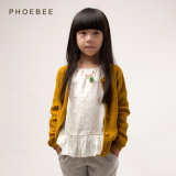 Phoebee Wholesale 100% Cotton Clothing Kids Girls Sweaters