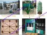 Wood Tray Compressed Moulded Wood Pallet Press Machine (WSY)