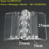 Door Window Clear PMMA Acrylic Folding Hinge Plexiglass Hinge