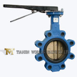 Hand Leverl Lug Type Butterfly Valve with Bronze Disc (D7L1X-10/16)