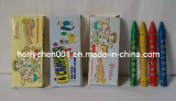 4 Colors 8X80mm Mini Wax Crayon, Sky-352