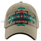 Washed Joint Embroidery Sandwich Twill Sport Baseball Cap (TMB9041)