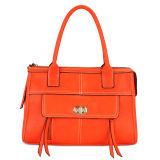 Korean Style Red Women Shoulder Handbag (MBNO032009)