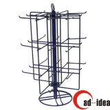 Portable Rotating Table-Top Three Tier Wire Counter Display Rack