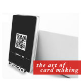 Custom Cmyk Offset Printed Cr80 PVC Plastic Gift Card with Barcode Printing