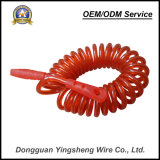 High Quality Steel Wire Rope TPU Spring Cable Pur Spiral Cable for Safety