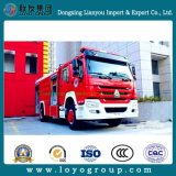 HOWO 4X2 Fire Fighting Truck for Sale