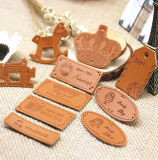 High Quality Real Leather PU Customized Leather Patch