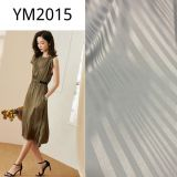 Ym2015 Polyester Fabric Spandex Stripe Satin 95GSM for Home Textiles