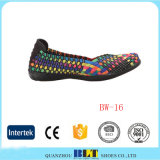 Best Selling Woven Shoes, Woven Elastic Shoes, Shoes Women Casual