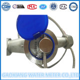 Pulse Output Stainless Steel Body Water Meter in 1/10liter/Pulse