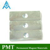N30sh Tile Permanent Magnet with Neodymium NdFeB