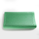Healthy Breathble Green Real Latex Contour Pillow