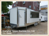 Commercial Mobile Kitchen Van with All Cooking Equipments