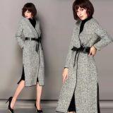 2015 New Design Hot Sale Fashion Winter Warm Women's Slim Woolen Coat
