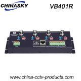4 Channel UTP Cat5/6 Active CCTV Video Balun Receiver (VB401R)