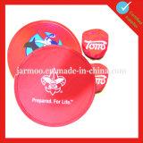 Custom Logo Print Foldable Nylon Frisbee