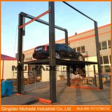 Vehicle Parking Lifter Hydraulic Elevator Platform 4 Post Car Lifting