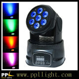 7PCS * 18W 6in1 LED Mini Moving Head Wash Lighting