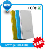 3000mAh Polymer Power Bank with Business Name Card Shape
