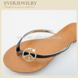Newest Arrival Fashion Flip Flop Crystal Clip