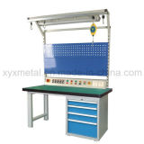 Heavy Duty Garage Cold-Rolled Steel Workbench with Power Bar