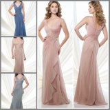 A-Line Chiffon Party Prom Gown V-Neck Mother′s Evening Dresses Mr71208