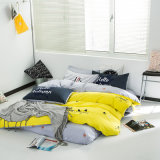 Home Textile Bedroom Duvet Cover and Bed Sheet Bedding Set
