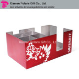 Custom Stainless Steel Bar Accessory and Napkin Caddy