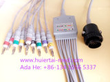 Kanz 16pin IEC 4.0banana 10 EKG/ECG Cable