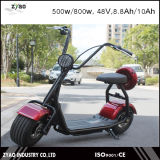 2016 Popular Harley Style Electric Scooter with Big Wheels, Fashion City Scooter Citycoco