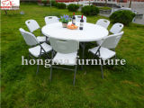 5ft Folding in Half Table, Round Table, Banquet Table