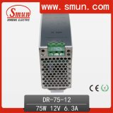 75W DIN Rail Switching Power Supply (DR-75) 12V 6A