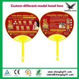 Advertising Round PP Hand Fan