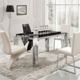 Living Room Furniture Dining Table with Marble Top