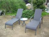 Wicker Rattan Sun Lounge Beach Chair Outdoor Furniture (FS-3001+FS-3002)