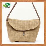 Linen Bag / Jute Messenger Bag