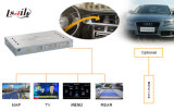 HD All-Purpose Car Upgrade GPS Navigation Video Interface Box for 09-14 Audia4l, Wince6.0, Tracker