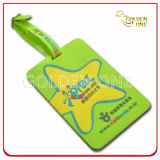 Customized Style Mold Injection Soft PVC Luggage Tag