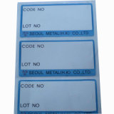 Half-Blank Self-Adhesive Sticker Label for Packing