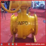 Cast Steel Flanged Trunnion Mounted Ball Valve (Q47F)