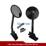 Black Quick Release Relocation Mirror for Jeep Wrangler Jk