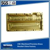 CNC Machined Precision Brass Bracket with China Factory