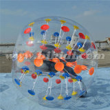 Multi-Colour Dots TPU Bubble Soccer, Inflatable Knocker Ball D5057